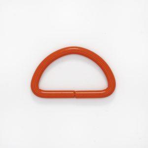 Полукольцо, цвет - оранж, d 4см.